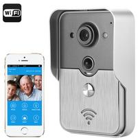 Auto-hightech - Interphone visiophone sans fil vision nocturne, détecteur de mouvement application Android et Ios