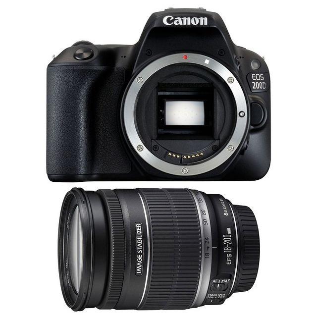 Canon Eos 200D + Ef-s 18-200 mm f/3.5-5.6 Is Garanti 3 ans