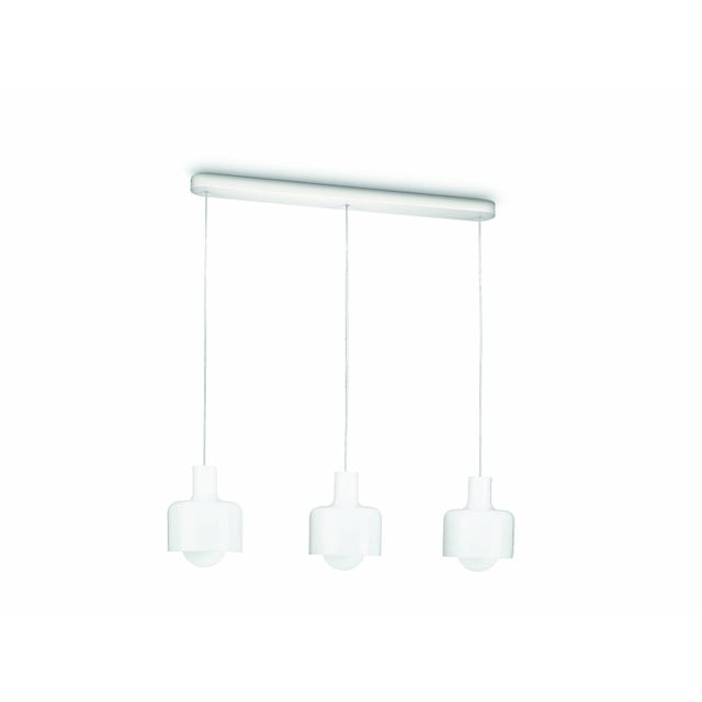 Philips 513776 - Suspension myLiving Ravan 3 x 20W E27 - Blanc