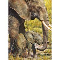 Master Pieces - Puzzle 1000 pièces : Eléphant d'Afrique