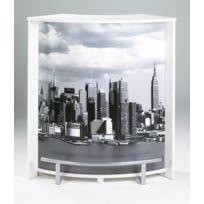 Bonareva - Comptoir de bar - New-York Manhattan - Blanc