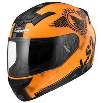Ls2 - casque moto intégral Ff352.32 Fan orange mat L