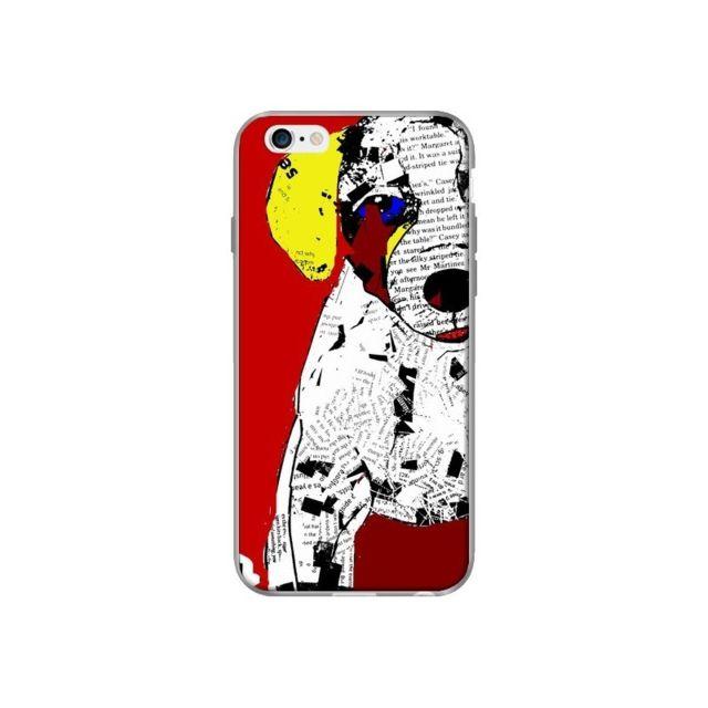 coque iphone 6 et 6s chien russel bribuckley