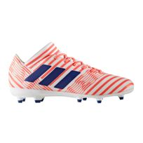 Adidas performance - Chaussures football Adidas Nemeziz 17.3 Fg Blanc/orange Femme