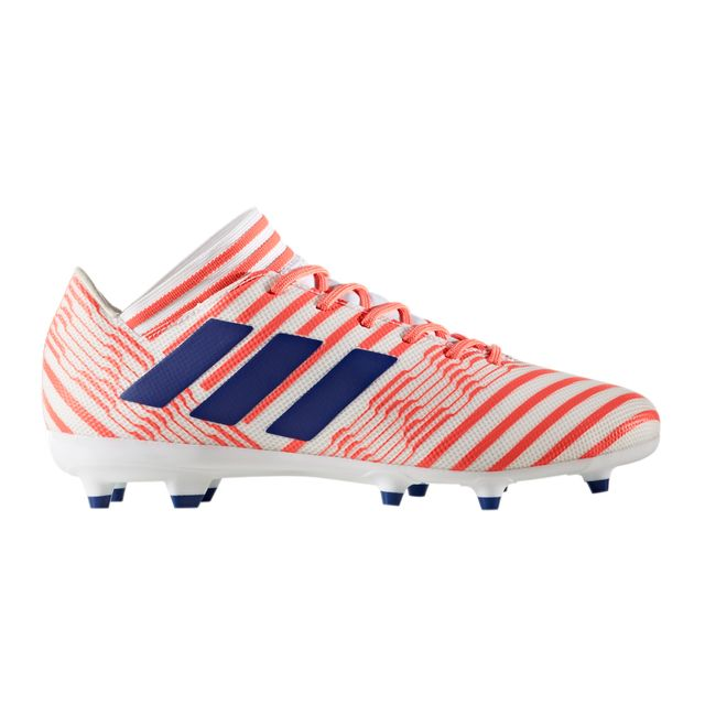Chaussures football Adidas Nemeziz 17.3 Fg Blanc/orange Femme