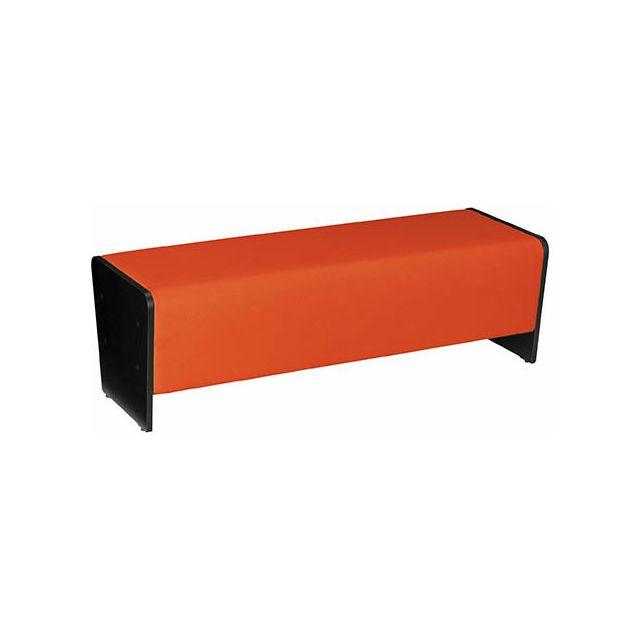 Nowystyl Module banquette Ergomob grand modèle orange