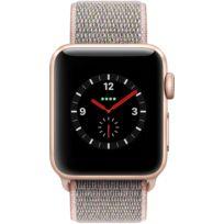 Watch 3 Cellular 38 - Alu or / Boucle Sport rose des sables