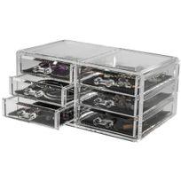 Compactor - Grand coffret range-bijoux 6 tiroirs