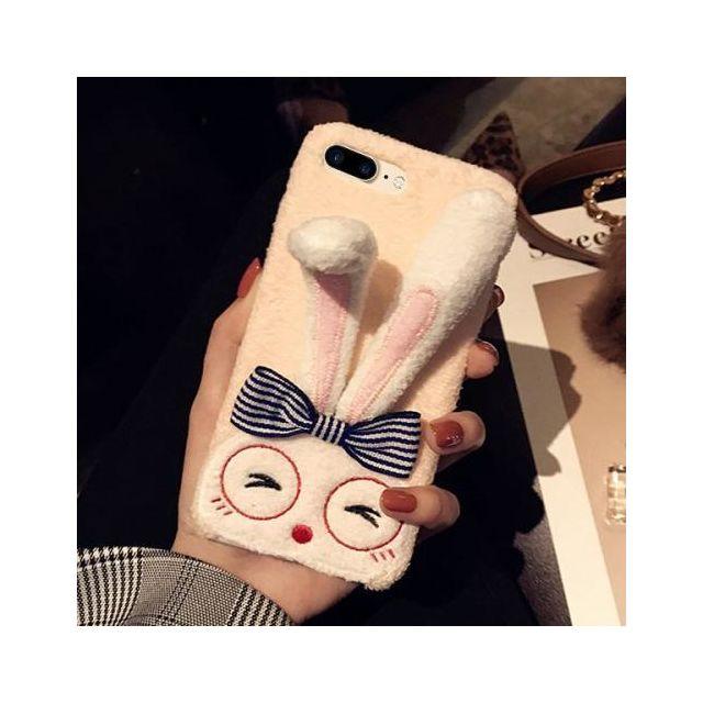 coque iphone 8 plus oreille de lapin