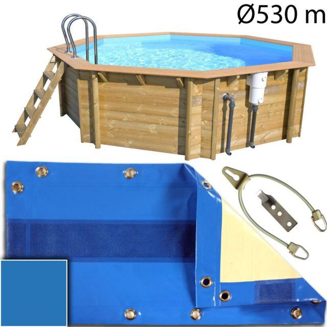 piscine center o 39 clair b che hivernage piscine bois hors. Black Bedroom Furniture Sets. Home Design Ideas