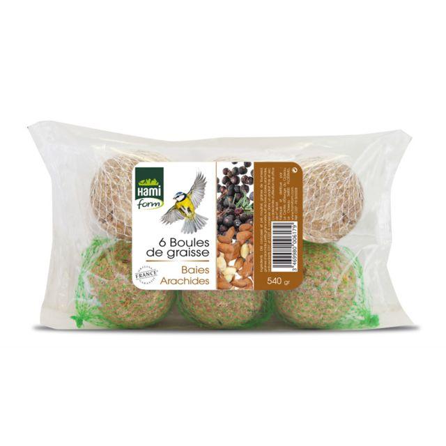 hamiform hami form boules de graisse baies et arachides pas cher achat vente alimentation. Black Bedroom Furniture Sets. Home Design Ideas