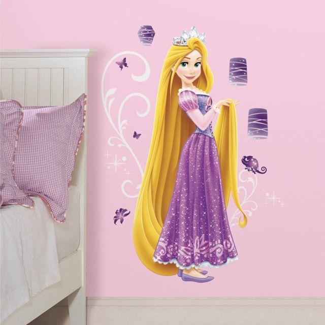 Stickers Géant Raiponce Princesse Disney