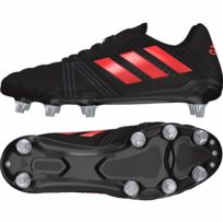 Adidas - Chaussure Kakari Acier Noir Rouge - taille : 42 2/3