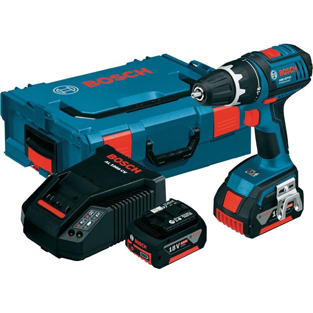Perceuse-visseuse 18 V + 2 batteries - 0 601 9E6 100