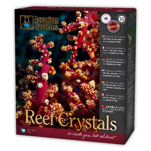 AQUARIUM SYSTEMS Sel Reef Crystals pour Aquarium 4Kg