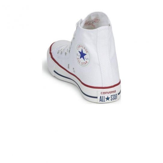 Converse - Chaussures All Star Hi Optical White W e17 Blanc