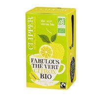 Clipper - Thé Vert Citron Bio 35g