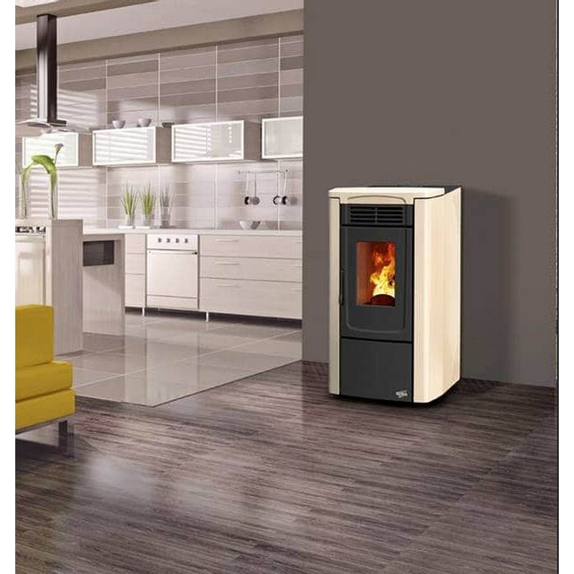 gevaudan pellet stunning latest excellent poele a pellet kw noir et blanc ganta toulouse rouge. Black Bedroom Furniture Sets. Home Design Ideas