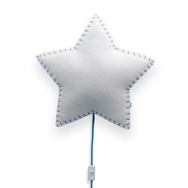 Applique étoile - Bleu