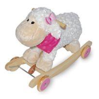 meinLiLaLu & Co. - Mouton é bascule en peluche