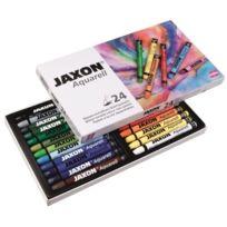Jaxon - Lot De 24 Crayons Aquarelle Couleurs Assorties