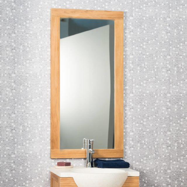 Wanda Collection Miroir salle de bain 100x50