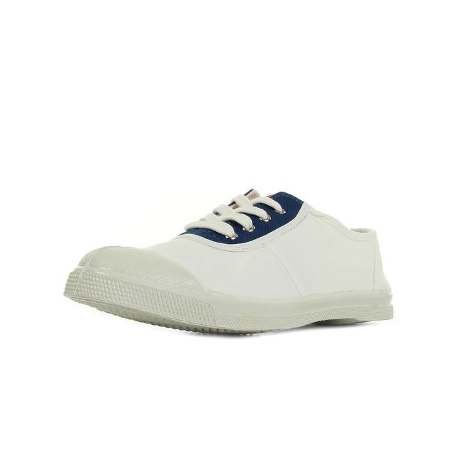 Bensimon - Tennis Old School Blanc - pas cher Achat   Vente Baskets ... 970ec3dcaece