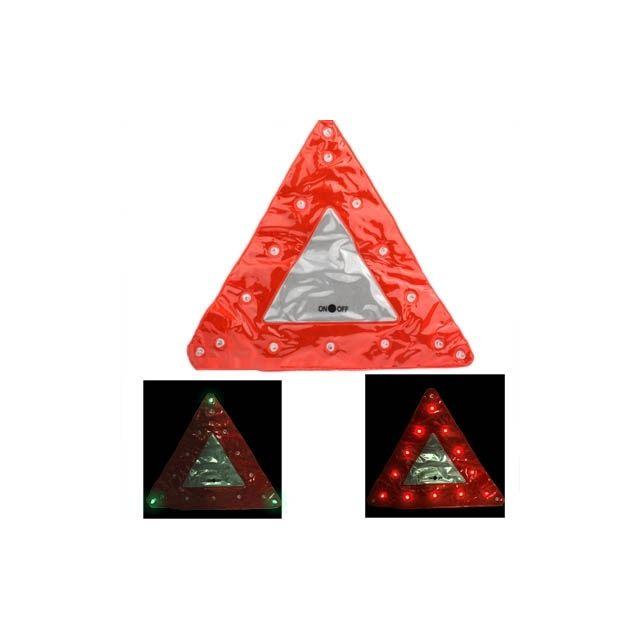 wewoo gyrophare voiture rouge 15 led triangle d 39 urgence de avertissement s curit trafic signe. Black Bedroom Furniture Sets. Home Design Ideas