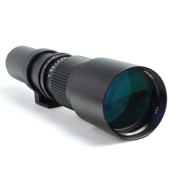 Oting Téléobjectif 500mm F 1:8 pour Canon Eos