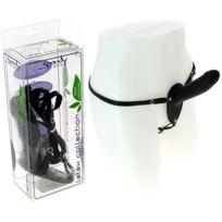 Spoody Toys - Gode ceinture anal en latex noir - 13 cm
