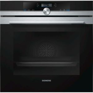 Siemens - four intégrable 71l 60cm a+ pyrolyse inox/noir - hb672gbs1f