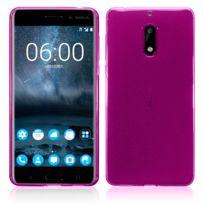 Lapinette - Coque Gel Pour Nokia 6 + Film - Rose