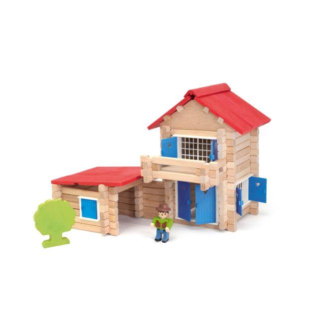 JEUJURA La maison en bois : 140 pièces