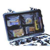 Peli - Organizer avec couvercle pour valise Flightcase 1510