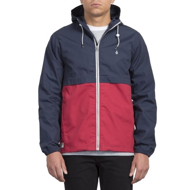 Hooded Howard Howard Veste Burgundy Veste Light Hooded rQxBshCtd