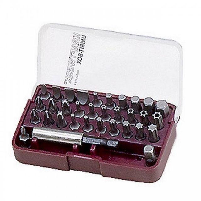 KS Tools 918.3206 Torsionpower Bo/îte de 5 Embouts de vissage /à code couleur PZ1 25 mm 1//4