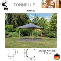 KARIBU - Madrid traité en autoclave surface HT 10,53 m2