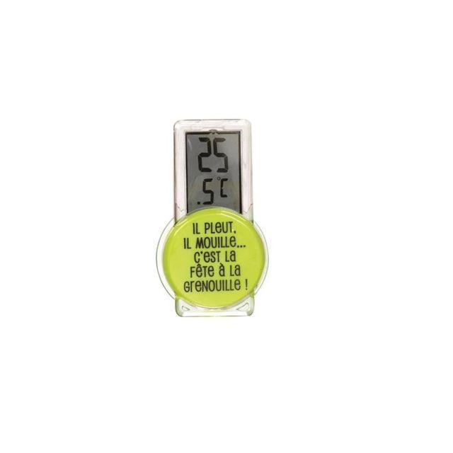 Thermomètre extérieur - Vert