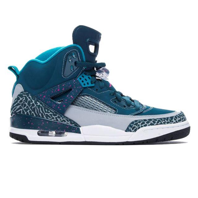 a85c571d207 Nike - Basket Air Jordan Spizike Riverwalk Bleu 315371-407-44 - pas cher  Achat   Vente Baskets homme - RueDuCommerce