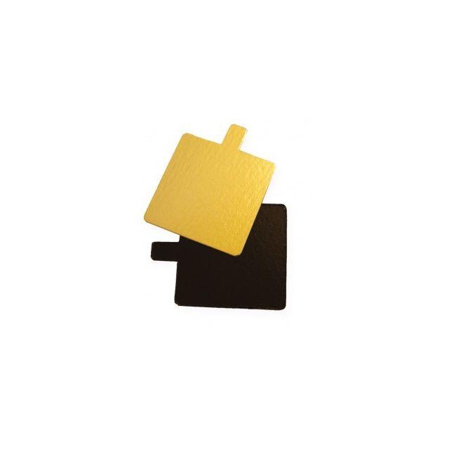 Guery Carré cartonné avec languette 8 x 8 cm