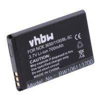 Vhbw - Batterie adaptée pour Nokia 100, 101, 106 Dual Sim comme Bl-