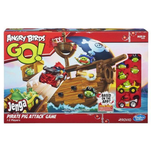 Hasbro - Jeu Angry Birds Go - A l'attaque du Bateau pirate