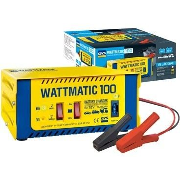 gys chargeur de batterie wattmatic 100 6 12 volts pas cher achat vente chargeurs de. Black Bedroom Furniture Sets. Home Design Ideas