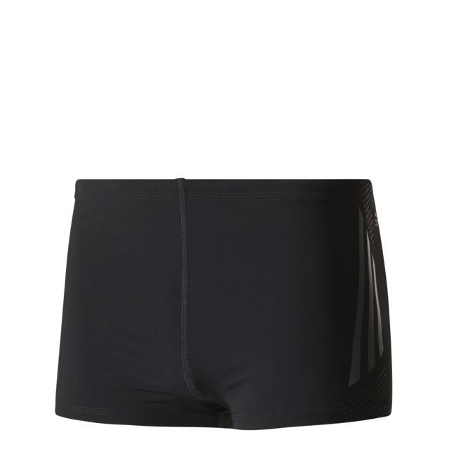 93fd20e21ce2f Adidas - Boxer Graphic noir anthracite - pas cher Achat   Vente Maillots de  bain - RueDuCommerce