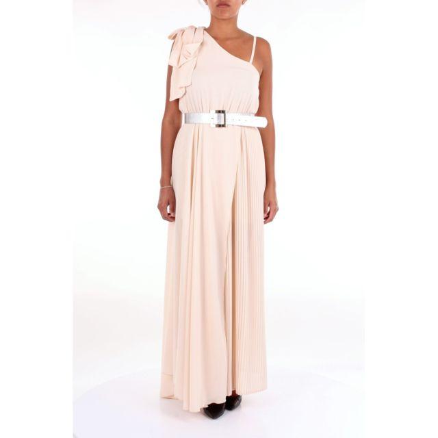 Babylon Femme Hmf5755CREMA Beige Viscose Robe