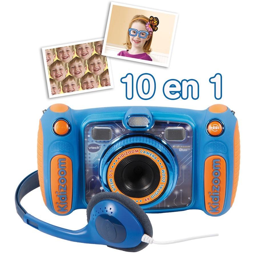 vtech kidizoom duo 5 0 bleu 507105 pas cher achat vente appareil photo enfant. Black Bedroom Furniture Sets. Home Design Ideas