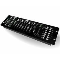 Ibiza Light - Contrôleur Dmx 192 canaux 12 effets Lc-192DMX