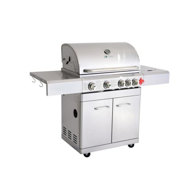 Napoleon Barbecue à Gaz 3 brûleurs 12500W R425PK pas