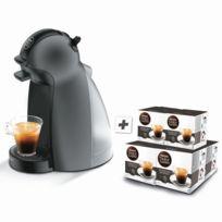 KRUPS - Dolce Gusto Piccolo + 6 boites de café - YY3103FD - Anthracite