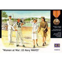 Master Box - Figurines 2ème Guerre Mondiale : Femmes au combat : Us Navy Waves